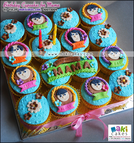 Birthday Cupcakes for Mama_ - Maki Cakes