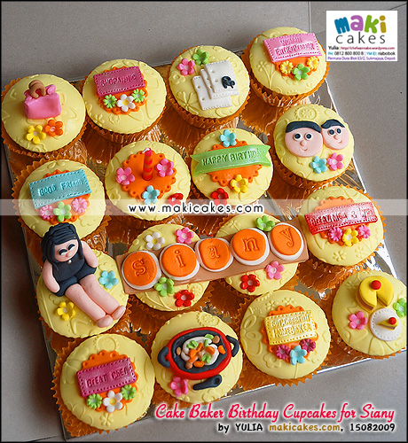 Cake Baker Birthday Cupcakes for Siany