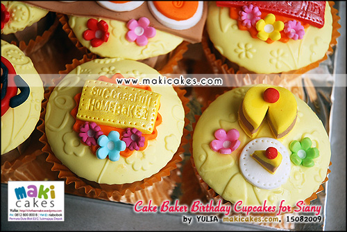 Cake Baker Birthday Cupcakes for Siany_