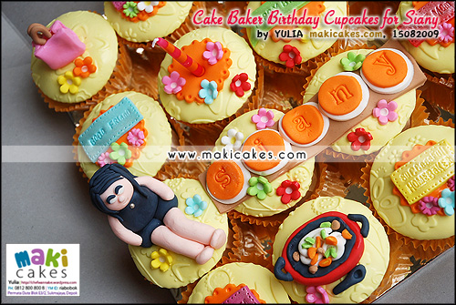 Cake Baker Birthday Cupcakes for Siany__