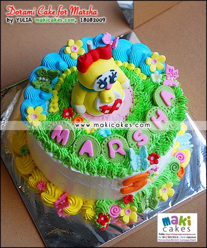 Dorami Cake for Marsha - Maki Cakes