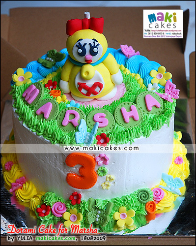 Dorami Cake for Marsha_ - Maki Cakes