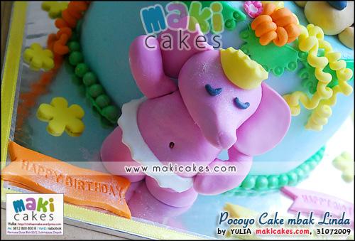 Pocoyo Cake mbak Linda_ - Maki Cakes