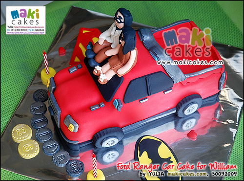 Ford Ranger Car Cake for William - Maki Cakes