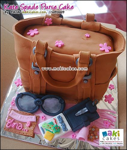 Kate Spade Purse Cake - Maki Cakes