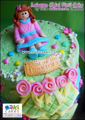 Lebaran (Idul Fitri) Cake - Maki Cakes