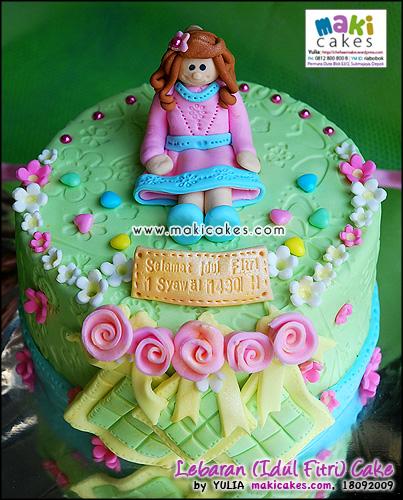 Lebaran (Idul Fitri) Cake_ - Maki Cakes