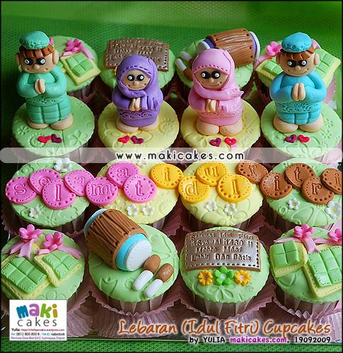 Lebaran (Idul Fitri) Cupcakes 2009__ - Maki Cakes