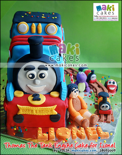 Thomas The Tank Engine Cake for Lionel - Maki Cakes
