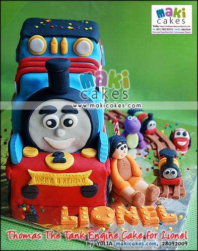 Thomas The Tank Engine Cake for Lionel - Maki Cakes