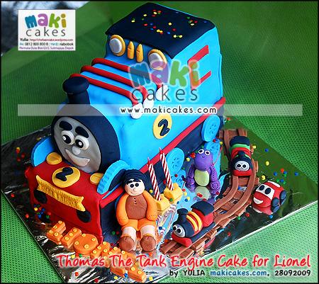 Thomas The Tank Engine Cake for Lionel_ - Maki Cakes