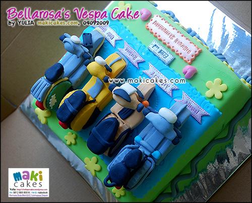 Vespa Cake [Bellarosa Sastrosubekti]_ - Maki Cakes