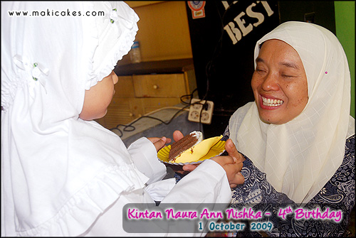 Birthday Kintan 2009 - Cake for Beloved Teacher