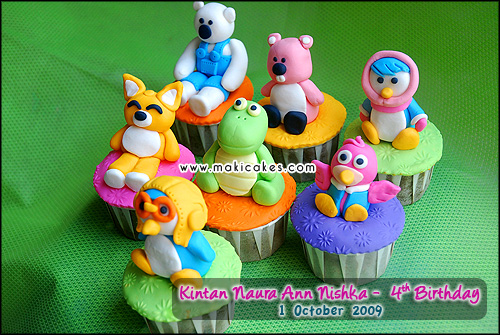 Birthday Kintan 2009 - Cupcakes Pororo