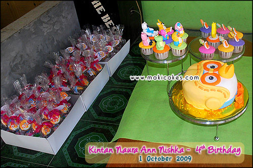 Birthday Kintan 2009 - Goody Bag - Cake & Cupcakes