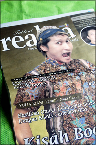 Tabloid Realita Edisi Oktober 2009 - BackCover
