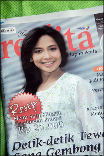 Tabloid Realita Edisi Oktober 2009 - Cover