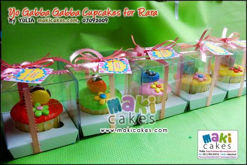 Yo Gabba Gabba Cupcakes for Rara_ - Maki Cakes
