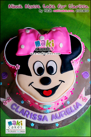 minnie mouse cupcakes. Minnie Mouse Cake for Clarissa