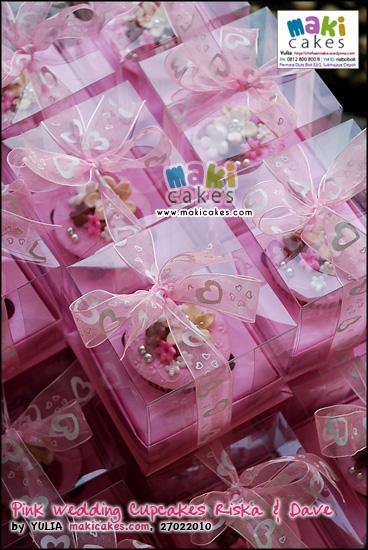 Pink Wedding Cupcakes Riska Dave