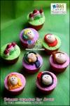 Princess Disney Cupcakes for Arruni