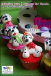 Dalmatian Tiered Cake & Cupcakes for Ananda____ - Maki Cakes