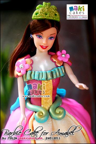 Barbie Doll Cake For Amabel Mama Kintan Kinar Bagas Belajar Masak