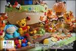 Pooh Autumn Cake & Cupcakes for Nicole___ - Maki Cakes