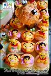 Pooh Autumn Cake & Cupcakes for Nicole____ - Maki Cakes