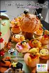 Pooh Autumn Cake & Cupcakes for Nicole_____ - Maki Cakes