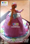 Purple Pink Barbie Doll Cake for Dhee__ - Maki Cakes