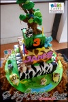 Go Jungle Cake For James - Maki Cakes