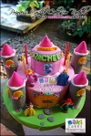 Princess Castle Cake for Rachel_ - Maki Cakes